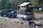 De ultieme kajak Hauler en op het dak Tent Camper.