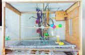 DIY grote Bird Cage Mini volière