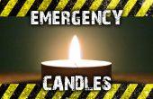 Noodgevallen kaarsen