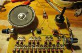 Atari Punk orgel, een eenvoudige 555 synthesizer
