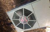 Een Basic schoon voor buiten AC eenheden