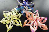 Het maken van Origami Kerst ornamenten