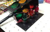 Arduino aangedreven mini verkeer signaal - controleren van uw werkplaats!