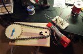 Laser-gesneden tandwielen en servo-control voor een klep