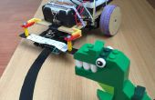 Lijn volgeling Android Robot - PID Control - Setup