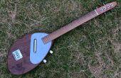 Elektrische bariton ukulele