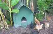 Bouwen van een gotische kippenhok (of hondenhuis kennel of varken of...)