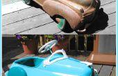 Hoe om te herstellen van een antieke Pedal Car