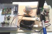 Draadloze deurbel Morse Code zender en printer