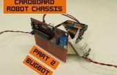 Kartonnen Chassis voor goedkope Robots 2: Bugbot