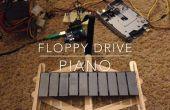 DIY diskettestation Piano (Floppiano)