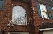 Skeletten van uw huis klimwanden