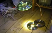 De USB-powered LED CD lamp