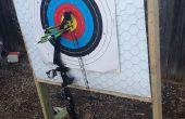 Zelfgemaakte boogschieten Target