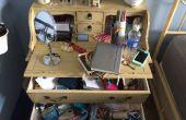 Organiseren van een rommelig bureau