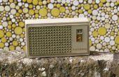 Hoe te doen herleven een transistorradio voor reflex circuit van sylvania
