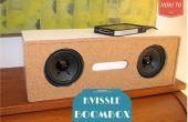DIY Tijdschriftenhouder transformatie naar een Kvissle Boekensteun Audio Boom Box