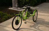 Zonne-aangedreven Trike