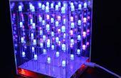 $9 bouwen een 4 x 4 x 4 RGB LED-kubus met animatie Schepper