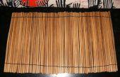 Eenvoudige instelling van de plaats van de Bamboo(chopsticks)