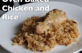 Oven gebakken kip en rijst