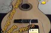 Verandering gitaar geluid met behulp van uw telefoon :)