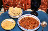 Makkelijk hartige Winter groente stoofpot met Quinoa