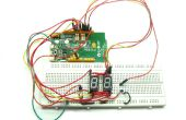 Opslaan van uw pinnen in 7 segment display project