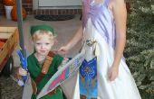Zelda en Link kostuums