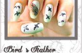 Bird's Feather Nail Art - doe het zelf