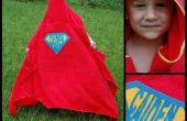Superheld Hooded handdoek