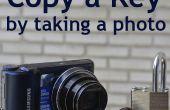 Maak een kopie van de sleutel van een foto