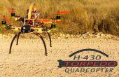H - 430 TORPEDO QUADCOPTER vouwen gemakkelijk om te zien van de oriëntatie van een afstand