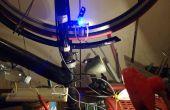 DIY contactloze magnetische inductie fiets dynamo