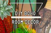 DIY Boheemse kamer decoratie