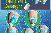 Aquarium Nail Art Design