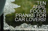 10 April Fool's Pranks voor auto liefhebbers!