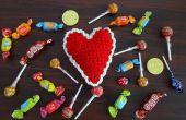 Haak hart Pin kussen of decoratie patroon & Turorial