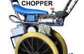 Elektrische scooter self balancing Raleigh Chopper geïnspireerd