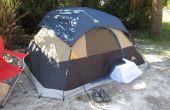 Ruggedizing en bug-proofing een venster-airconditioner voor tent camping