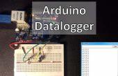 Arduino-Datalogger met temperatuursensor en fotoweerstand