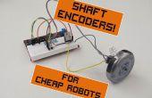 Snelheid van Controllers voor goedkope Robots, deel 1: schacht Encoders