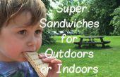 Super Sandwich verdunt voor buiten of binnen