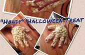 Handige Halloween traktatie/decoratie