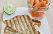Gegrilde Turkije & Sprout Sandwich