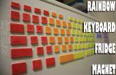 RAINBOW toetsenbord FRIDGE MAGNET