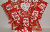 Kit Kat en hart snoep boeket