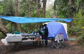 Hoe te auto-Camp in de regen: 11 Lifehacks