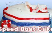 Hoe maak je een Speed boot taart