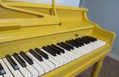 Hoe te schilderen van uw Piano!